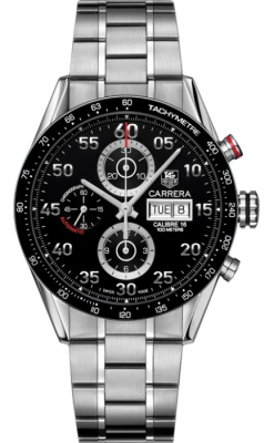 Tag Heuer Carrera Day Date Automatic Chronograph 43mm cv2a10.ba0796