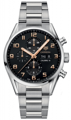 Tag Heuer Carrera Calibre 16 Automatic Chronograph 43mm cv2a1ab.ba0738