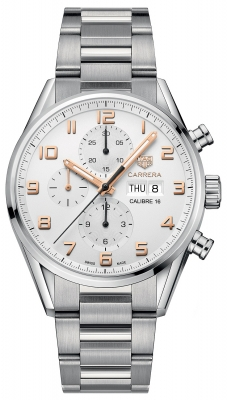 Tag Heuer Carrera Calibre 16 Automatic Chronograph 43mm cv2a1ac.ba0738