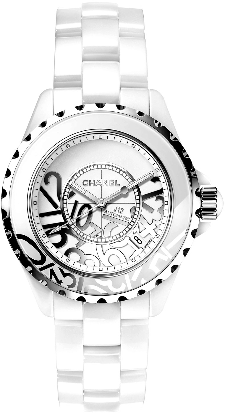 ceramic automatic white pcs chanel gmt limited product edition watches