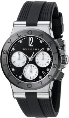 Bulgari Diagono Chronograph 37mm dg37bsbcvdch/8