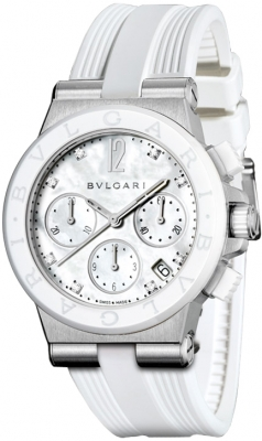 Bulgari Diagono Chronograph 37mm dg37wscvdch/8