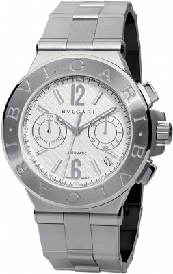 Bulgari Diagono Chronograph 40mm dg40c6ssdch