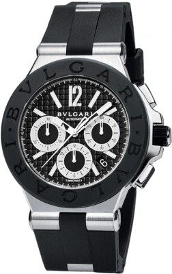 Bulgari Diagono Chronograph 42mm dg42bsvdch