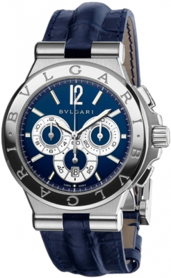 Bulgari Diagono Chronograph Calibre 303 42mm dg42c3sldch