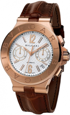 Bulgari Diagono Chronograph 40mm dgp40c6gldch