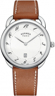 Hermes Arceau Quartz TGM 40mm 044822ww00