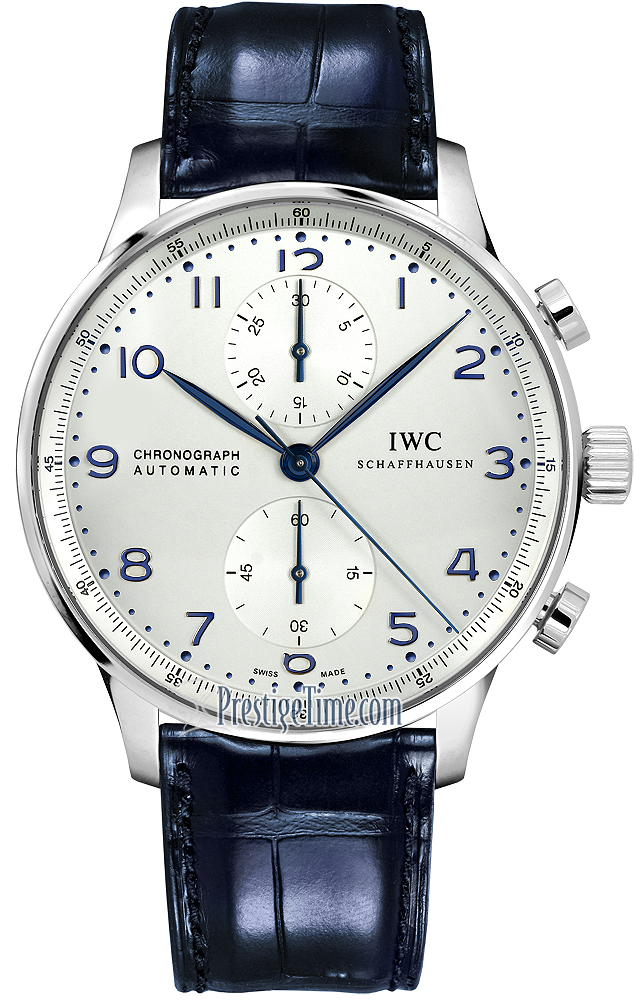Compare Shipping Rates >> IW371446 IWC Portuguese Automatic Chronograph Mens Watch