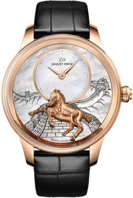 Jaquet Droz Les Ateliers d'Art Petite Heure Minute Relief j005023275 HORSE