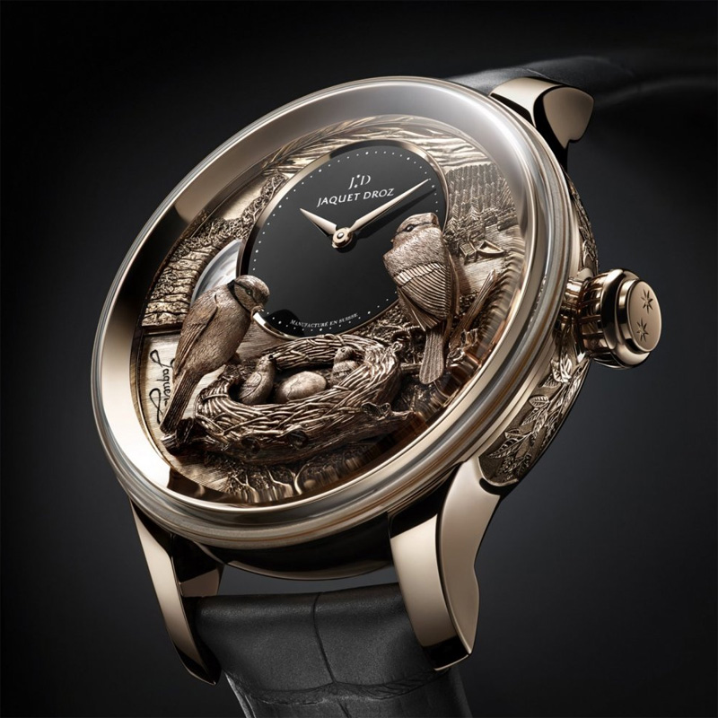 Jaquet Droz Les Ateliers d'Art Automata THE BIRD REPEATER