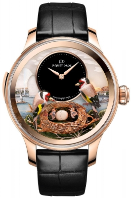 Jaquet Droz Les Ateliers d'Art Automata THE BIRD REPEATER J031033204 LAKE GENEVA