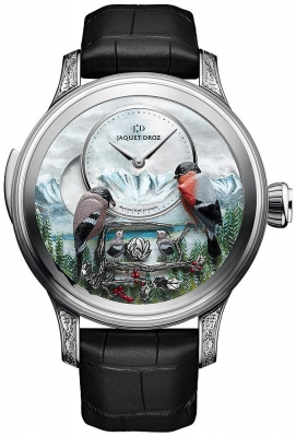 Jaquet Droz Les Ateliers d'Art Automata THE BIRD REPEATER J031034205 ALPINE VIEW