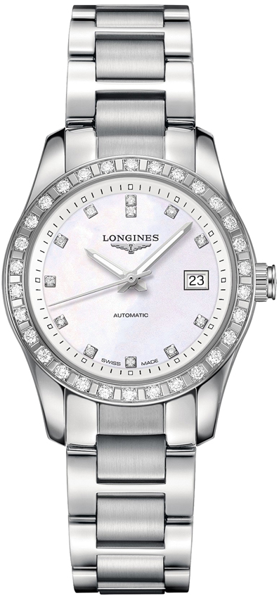 c64440267 Availability. Longines Conquest Classic Automatic 29mm Ladies Watch