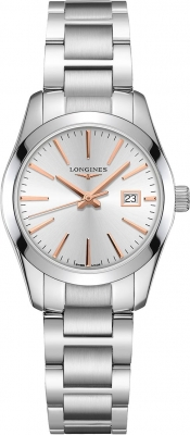 Longines Conquest Classic Quartz 29.5mm L2.286.4.72.6