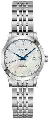 Longines Record 30mm L2.321.4.87.6