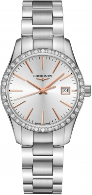 Longines Conquest Classic Quartz 34mm L2.386.0.72.6