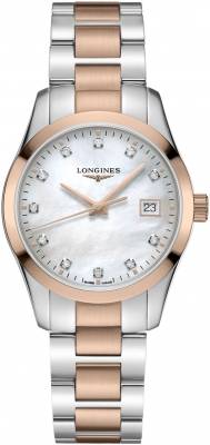 Longines Conquest Classic Quartz 34mm L2.386.3.87.7