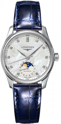 Longines Master Automatic Moonphase 34mm L2.409.4.87.0