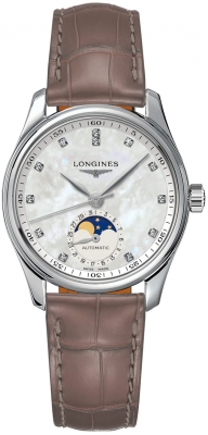 Longines Master Automatic Moonphase 34mm L2.409.4.87.4