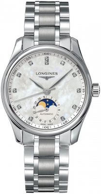 Longines Master Automatic Moonphase 34mm L2.409.4.87.6