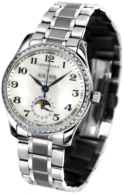 Longines Master Calendar Diamonds 36mm L2.503.0.83.6