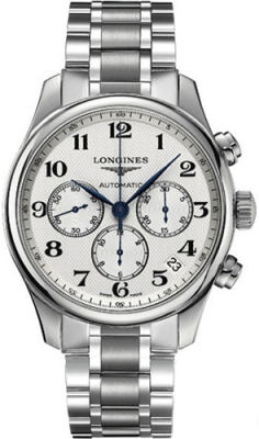Longines Master Automatic Chronograph 44mm L2.693.4.78.6