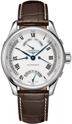 Longines Master Retrograde Seconds 41mm L2.715.4.71.3