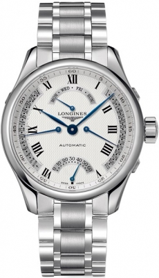 Longines Master Retrograde Seconds 41mm L2.715.4.71.6