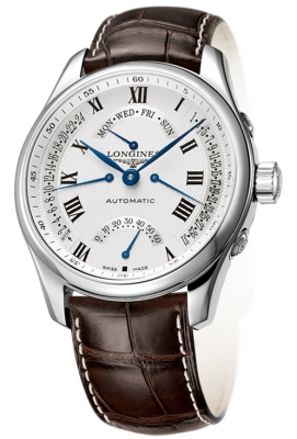 Longines Master Retrograde Seconds 44mm L2.717.4.71.3