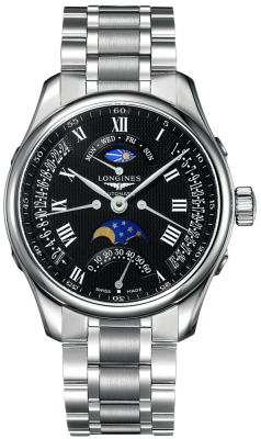 Longines Master Retrograde Seconds 44mm L2.739.4.51.6