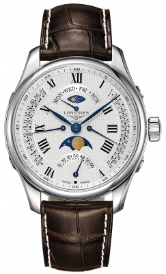 Longines Master Retrograde Seconds 44mm L2.739.4.71.3