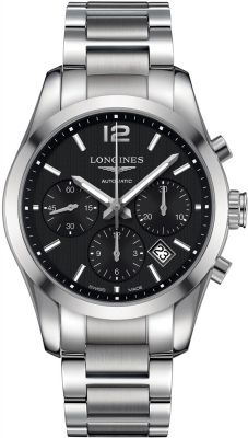 Longines Conquest Classic Automatic Chronograph 41mm L2.786.4.56.6