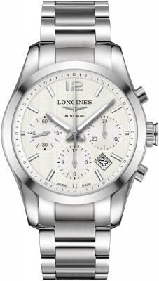 Longines Conquest Classic Automatic Chronograph 41mm L2.786.4.76.6