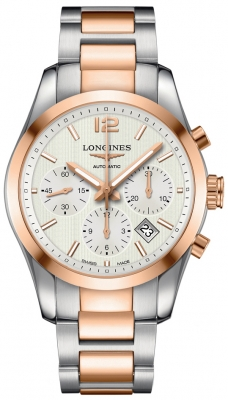 Longines Conquest Classic Automatic Chronograph 41mm L2.786.5.76.7