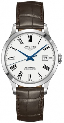 Longines Record 38.5mm L2.820.4.11.2