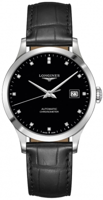 Longines Record 38.5mm L2.820.4.57.2