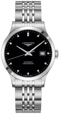 Longines Record 38.5mm L2.820.4.57.6