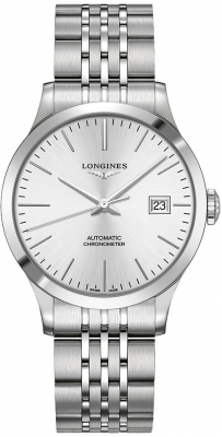 Longines Record 38.5mm L2.820.4.72.6