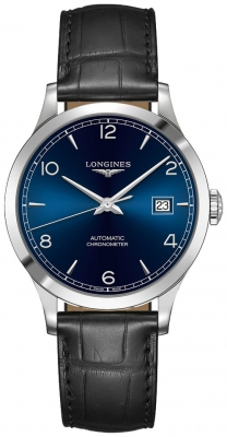 Longines Record 38.5mm L2.820.4.96.2