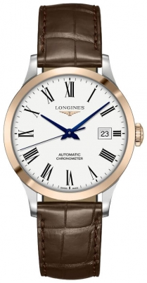 Longines Record 38.5mm L2.820.5.11.2