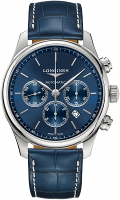 Longines Master Automatic Chronograph 44mm L2.859.4.92.0