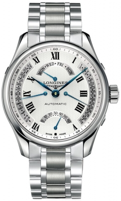 Longines Master Retrograde Seconds 44mm L2.717.4.71.6