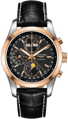Longines Conquest Classic Chronograph Moonphase 42mm l2.798.5.52.3