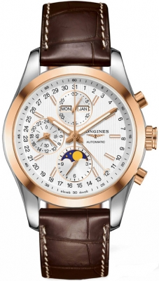 Longines Conquest Classic Chronograph Moonphase 42mm l2.798.5.72.3
