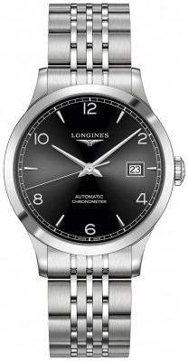 Longines Record 38.5mm L2.820.4.56.6
