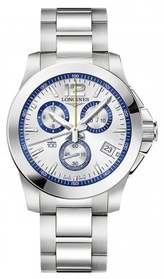 Longines Conquest Quartz Chrono 41mm L3.700.4.78.6