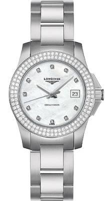 Longines Conquest Quartz Ladies 29.5mm L3.258.0.87.6