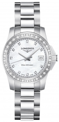 Longines Conquest Quartz Ladies 29.5mm L3.258.0.89.6