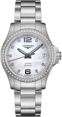Longines Conquest V.H.P. 36mm L3.316.0.87.6