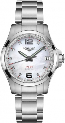 Longines Conquest V.H.P. 36mm L3.316.4.87.6
